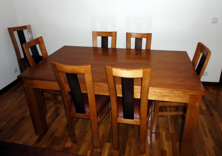 Conjunto de mesa + cadeiras EVELY