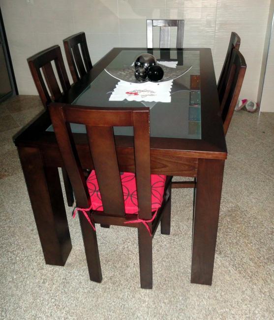 Conjunto de mesa + cadeiras DALILA