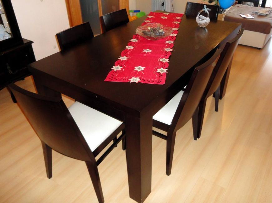 Conjunto de mesa + cadeiras BAKI