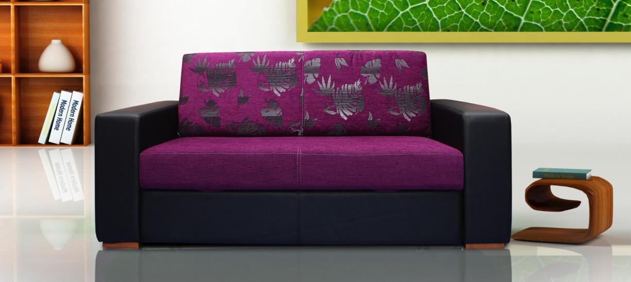 Sofá Purple - Cama extensível