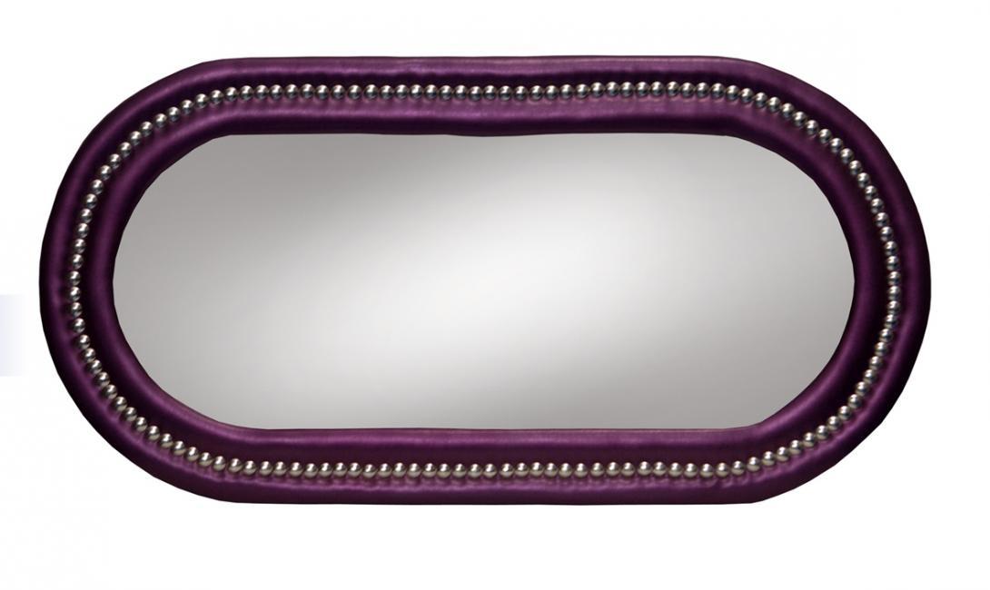 Moldura Round Purple